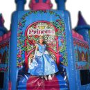 Close look of entry of Fantasy princess castle