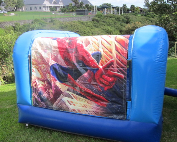 Spiderman bouncy castle3