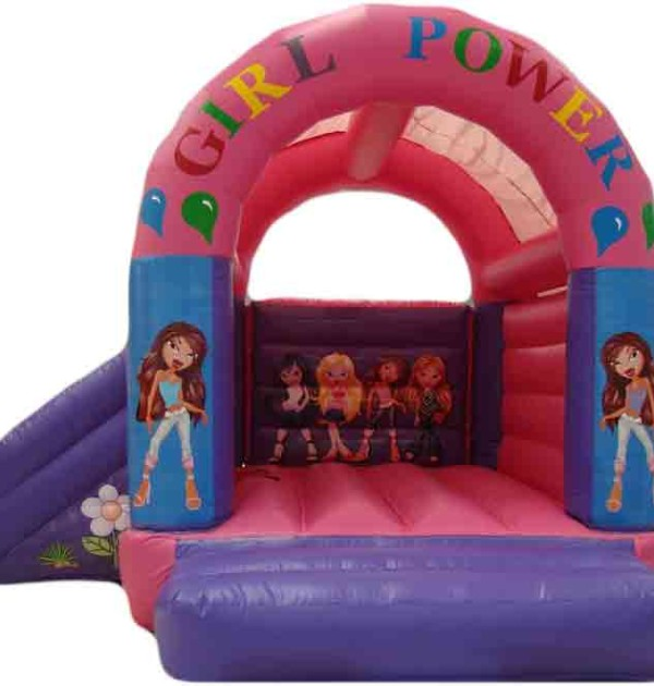 girl's-pink-castle-slide