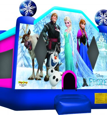 Frozen range bouncy castles From $140