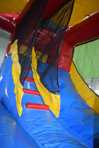 Inside Clifford with slide and climb